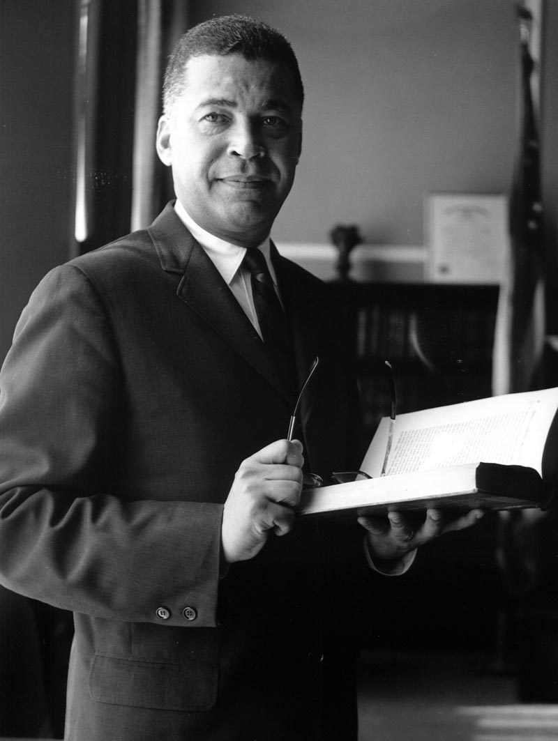 Attorney (now senator) Edward Brooke